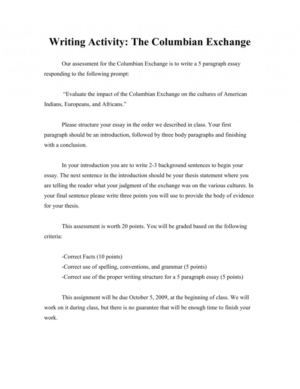 024 Columbian Exchange Essay Uncategorized Question Outline Conclusion Research20 Research Paper Liberty Frightening University Large