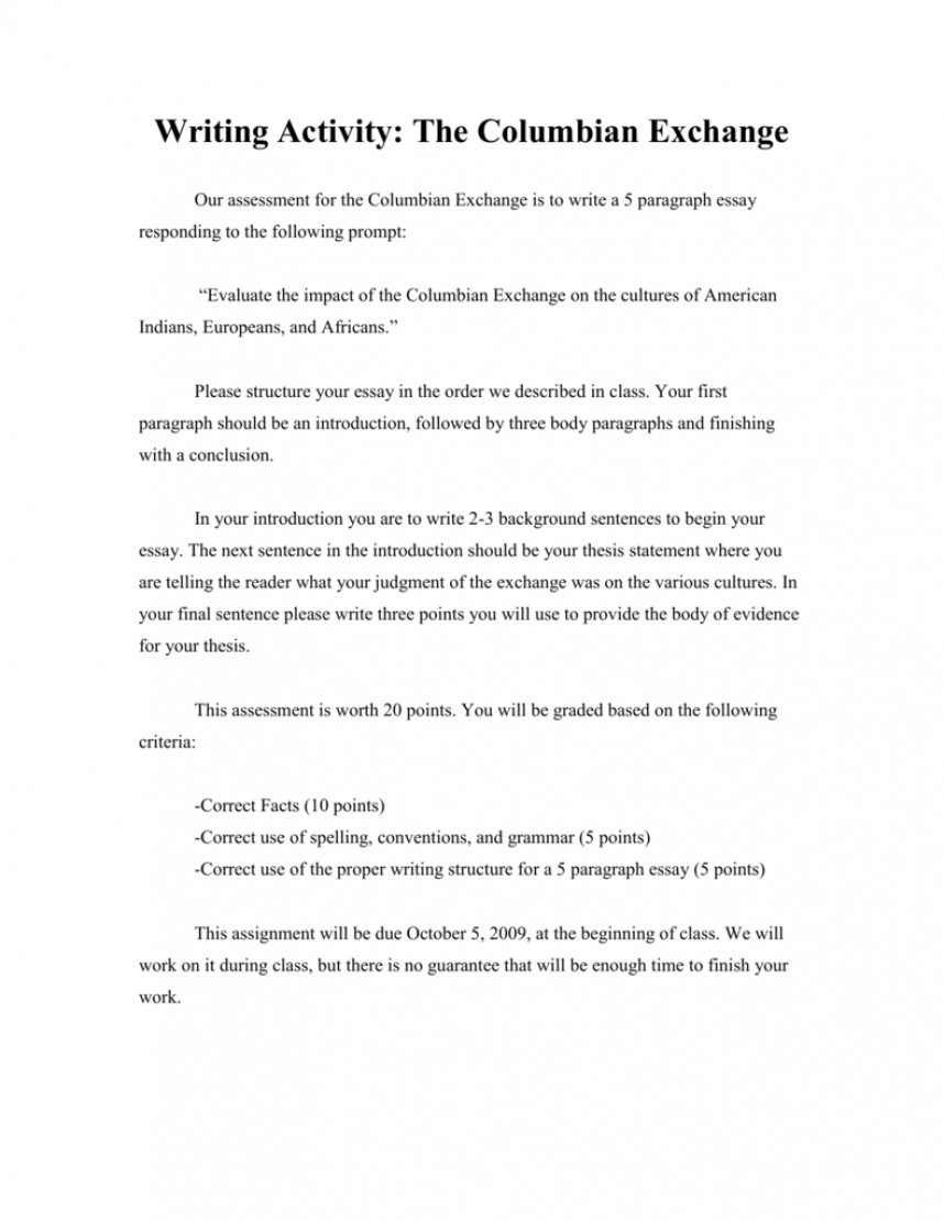 024 Columbian Exchange Essay Uncategorized Question Outline Conclusion Research20 Research Paper Liberty Frightening University