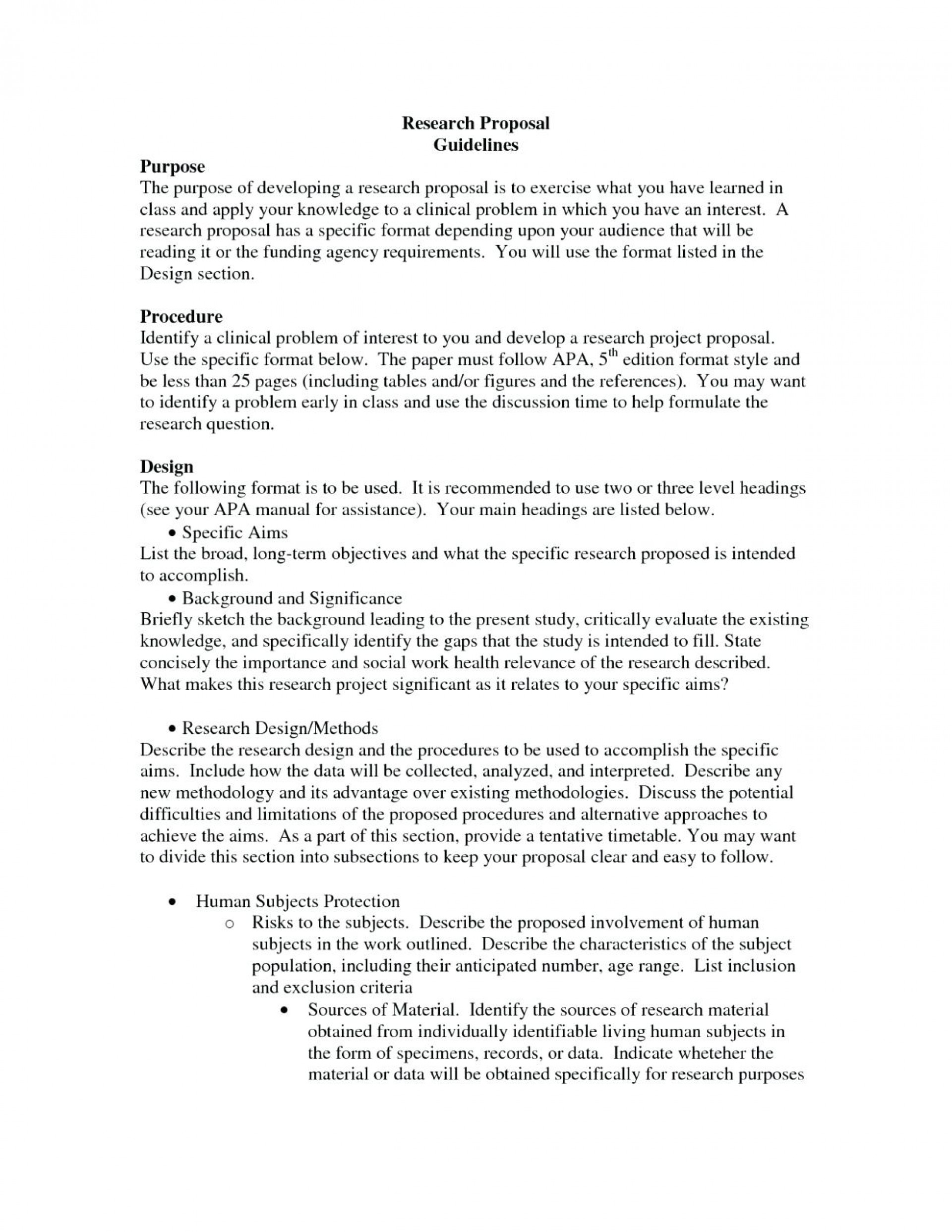 examples of writing a research proposal paper