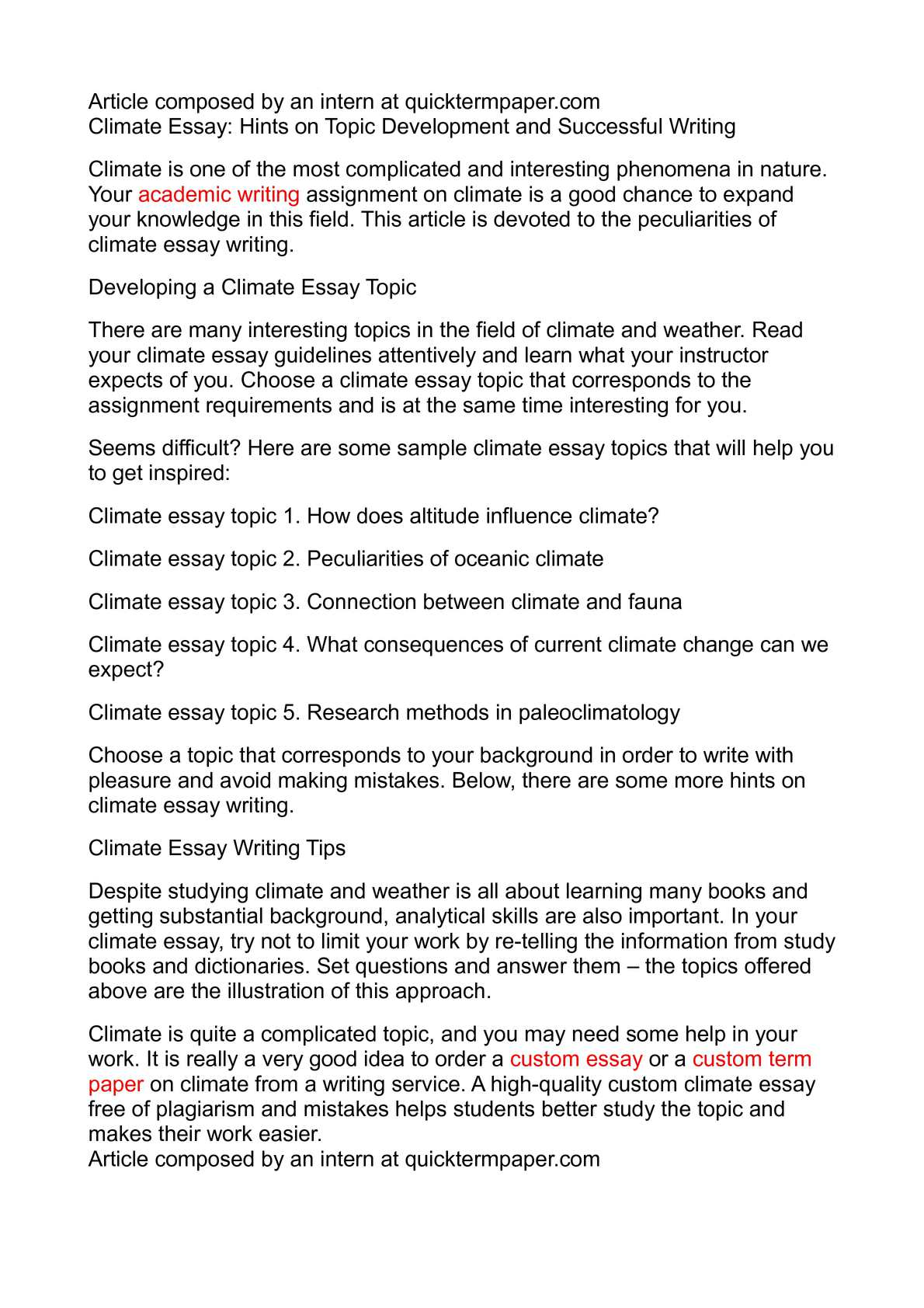 024 Research Paper Climate Change Topics Awesome Full