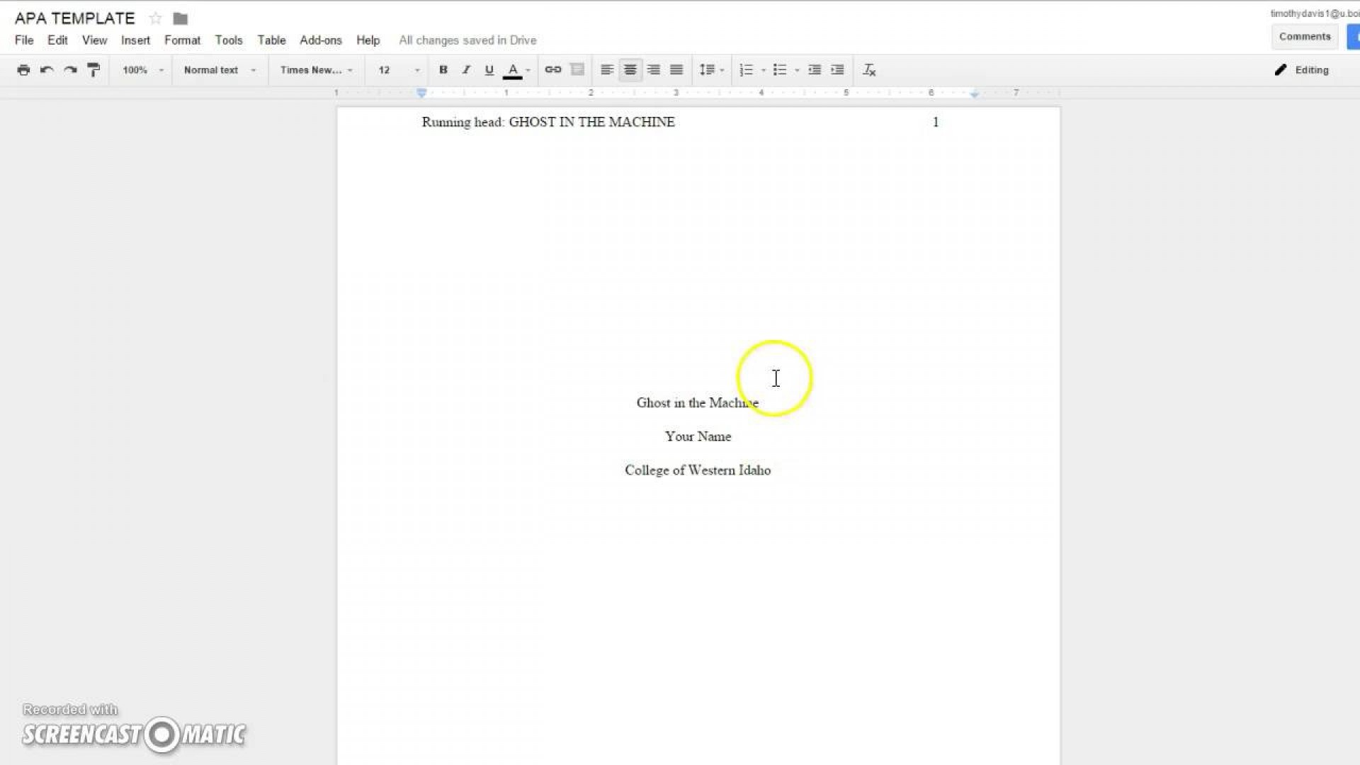 024 Research Paper Cover Page Template For Apa Rare Sample How To Do A Format 1920
