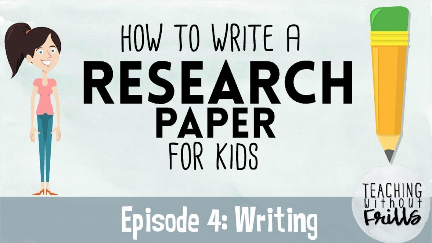 024 Research Paper How To Write Good Youtube Remarkable A In Apa 1400