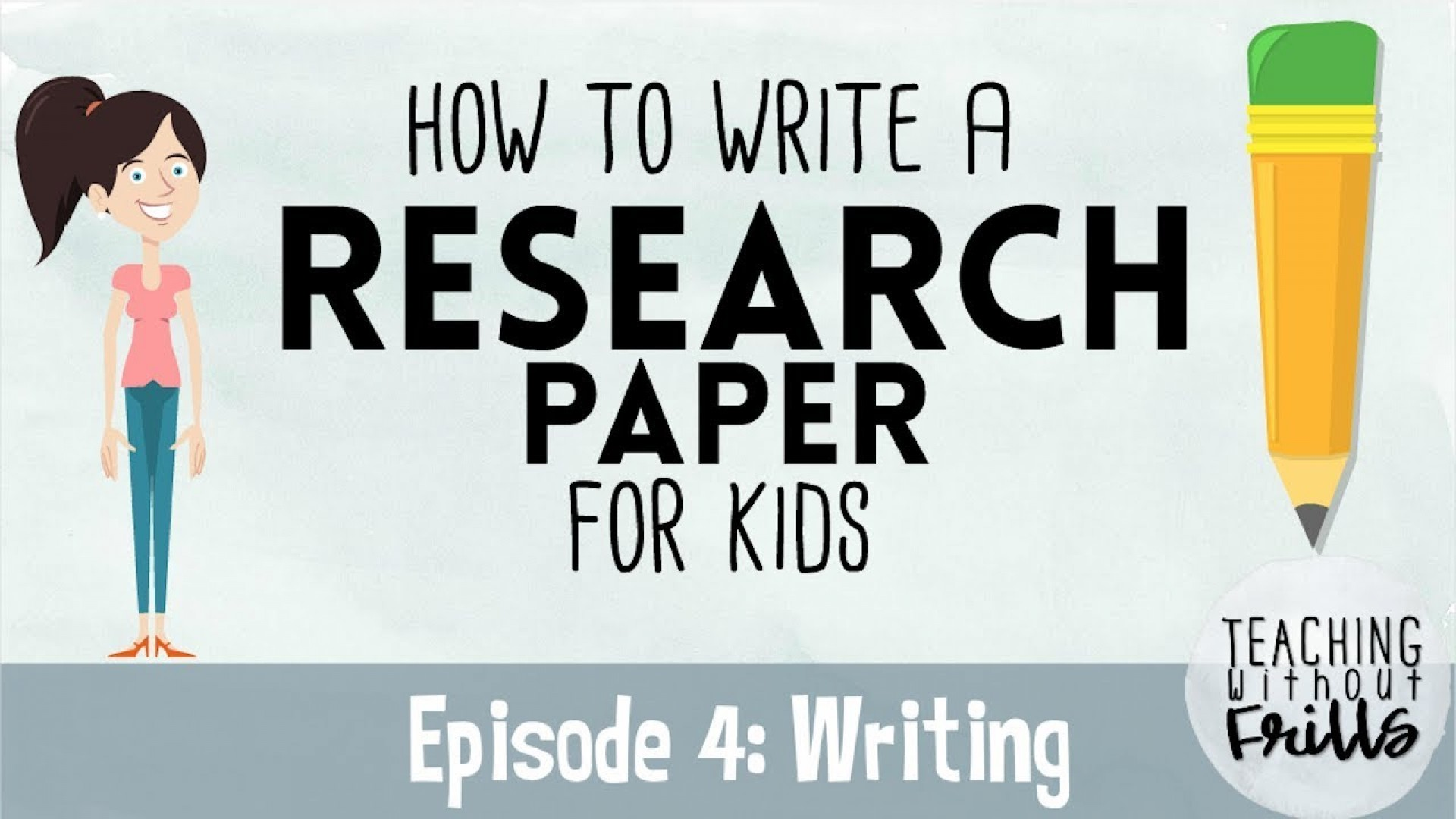 024 Research Paper How To Write Good Youtube Remarkable A In Apa Great 1920