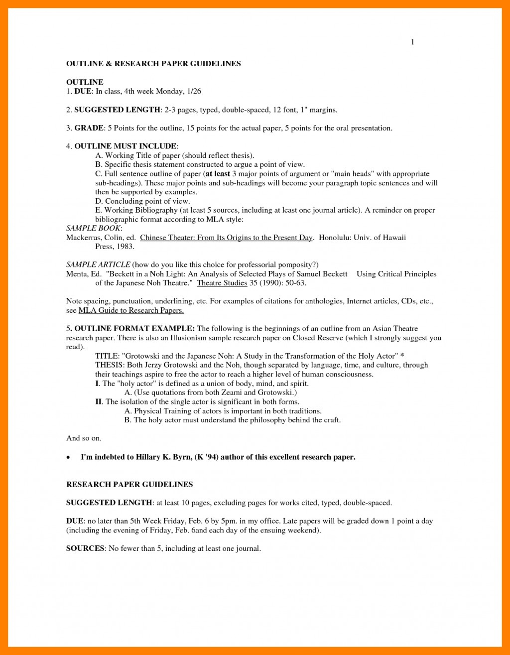 024 Research Paper In Mla Style Format Outline Examples 33896 Excellent Example Title Page Large
