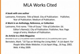 024 Research Paper Mla Works Cited Citation Example Citations In Format Work N Well Meanwhile Formats For Unusual