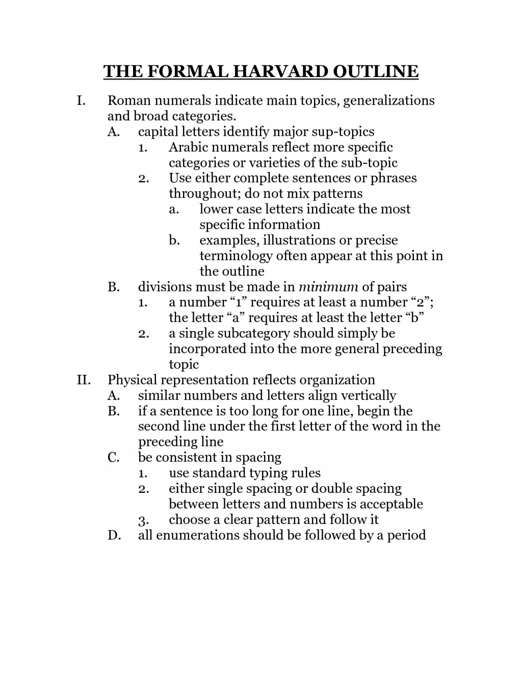 024 Research Paper Sample20of20formal20outline Example Of Science Fair Amazing A Outline Large