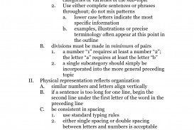 024 Research Paper Sample20of20formal20outline Example Of Science Fair Amazing A Outline