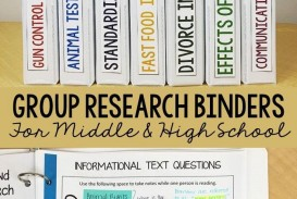 024 Research Paper Writing Binder Teaching Middle School Unusual Ideas Topics Topic