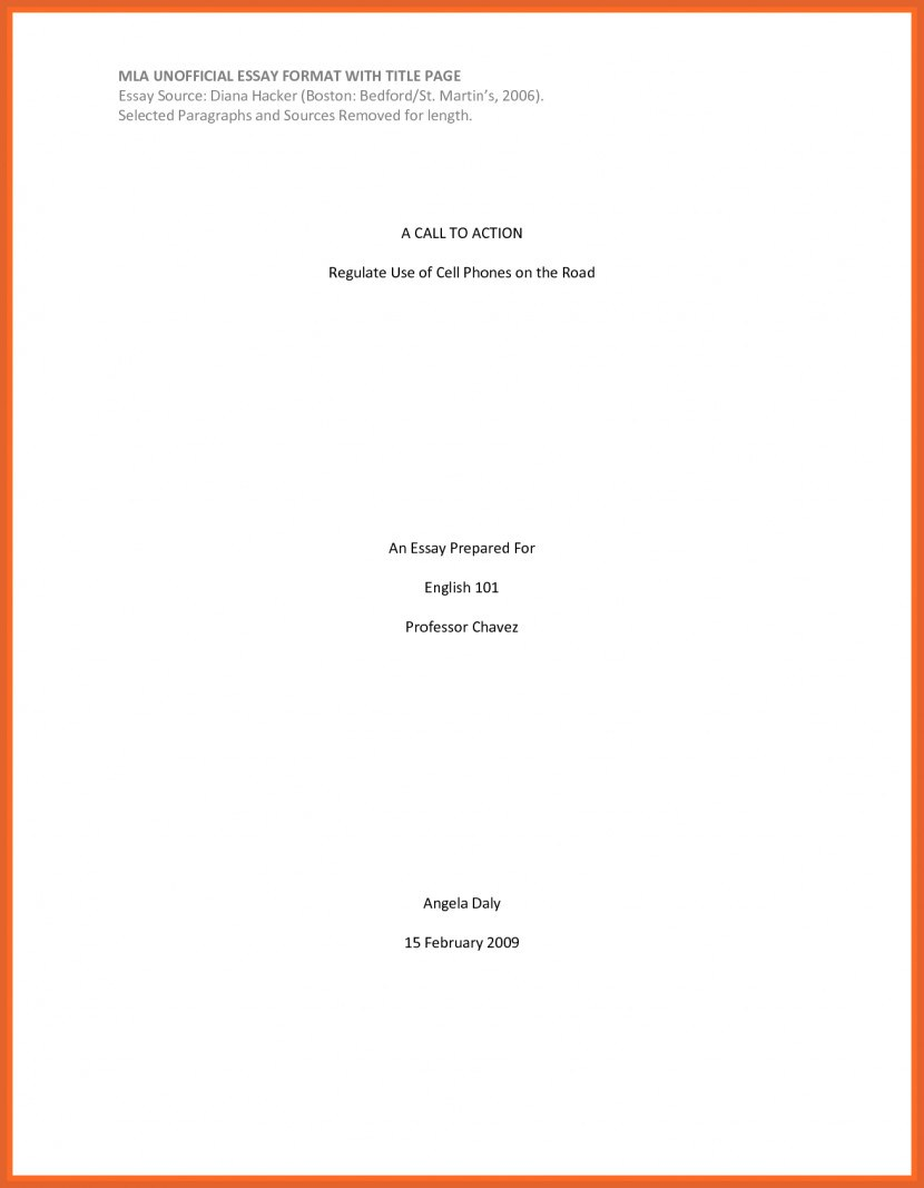 025 Cover Page Research Paper Template Mla Format Example First Sample Title Breathtaking Full