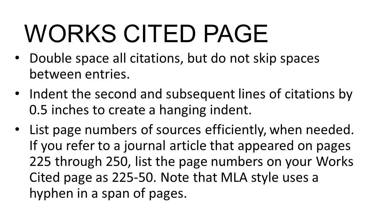 025 Do Works Cited Page Research Paper Unique Examples Mla Format Full
