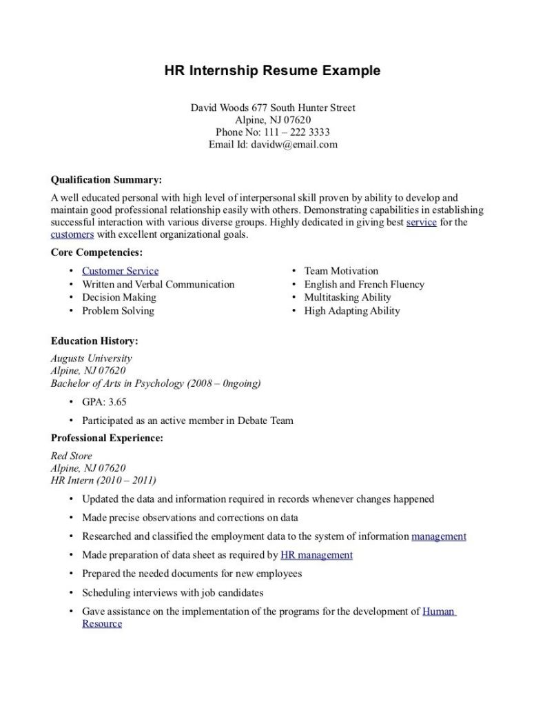 025 Objective Of Research Paper Example In Resume For ...