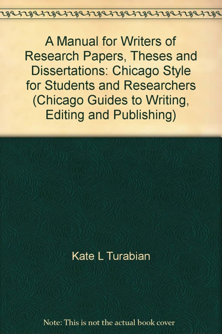 025 Research Paper Manual For Writers Of Papers Theses And Dissertations Turabian Amazing A Pdf 728