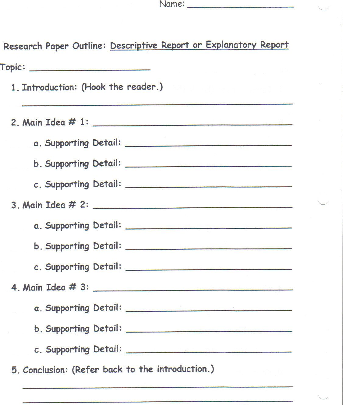 025 Research Paper Topic Idea Awesome Ideas 2019 Economics For Middle School Students Full