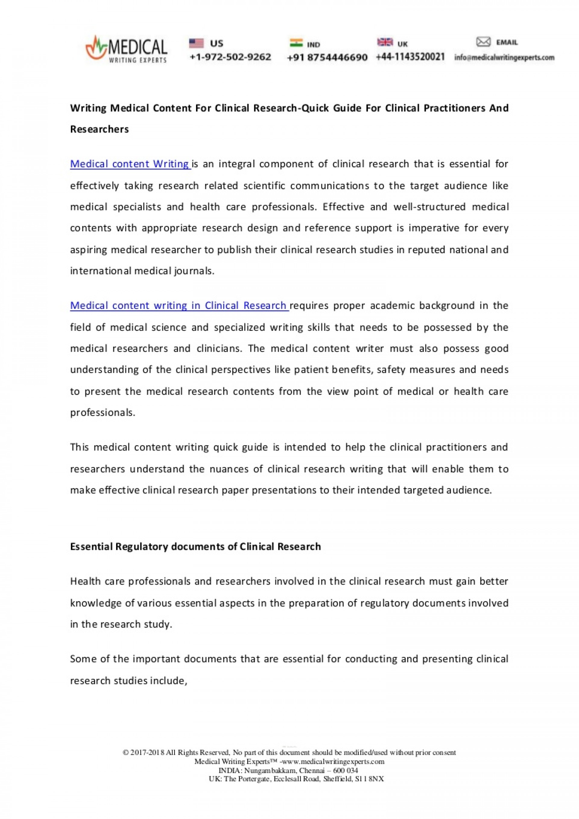 025 Research Paper Writingmedicalcontentforclinicalresearch Quickguideforclinicalpractitioners Thumbnail How To Publish Medical In Breathtaking India 1920