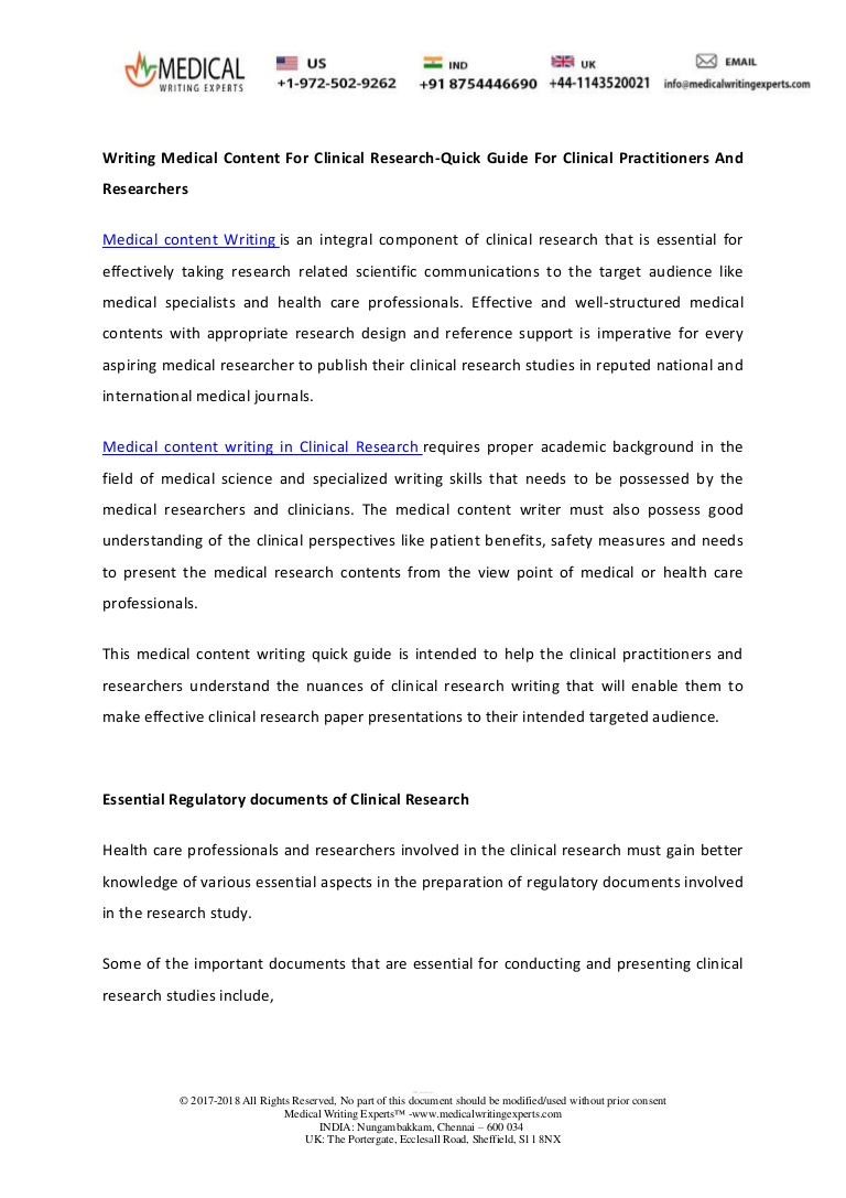 025 Research Paper Writingmedicalcontentforclinicalresearch Quickguideforclinicalpractitioners Thumbnail How To Publish Medical In Breathtaking India Full