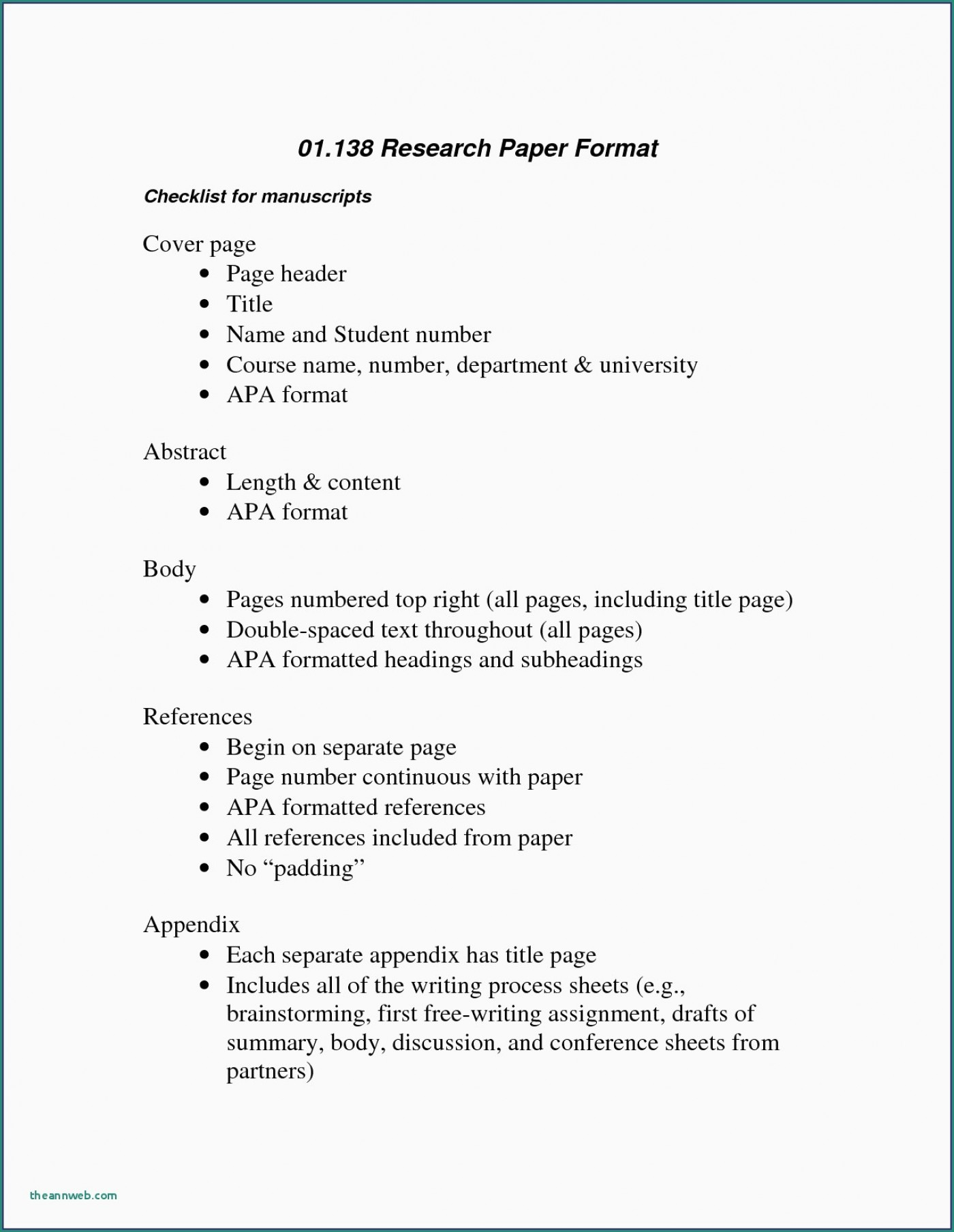 026 Apa Format For Research Paper Sample Psychology Elegant Essay New Template Resume Formidable Style Example 6th Edition Outline 1400