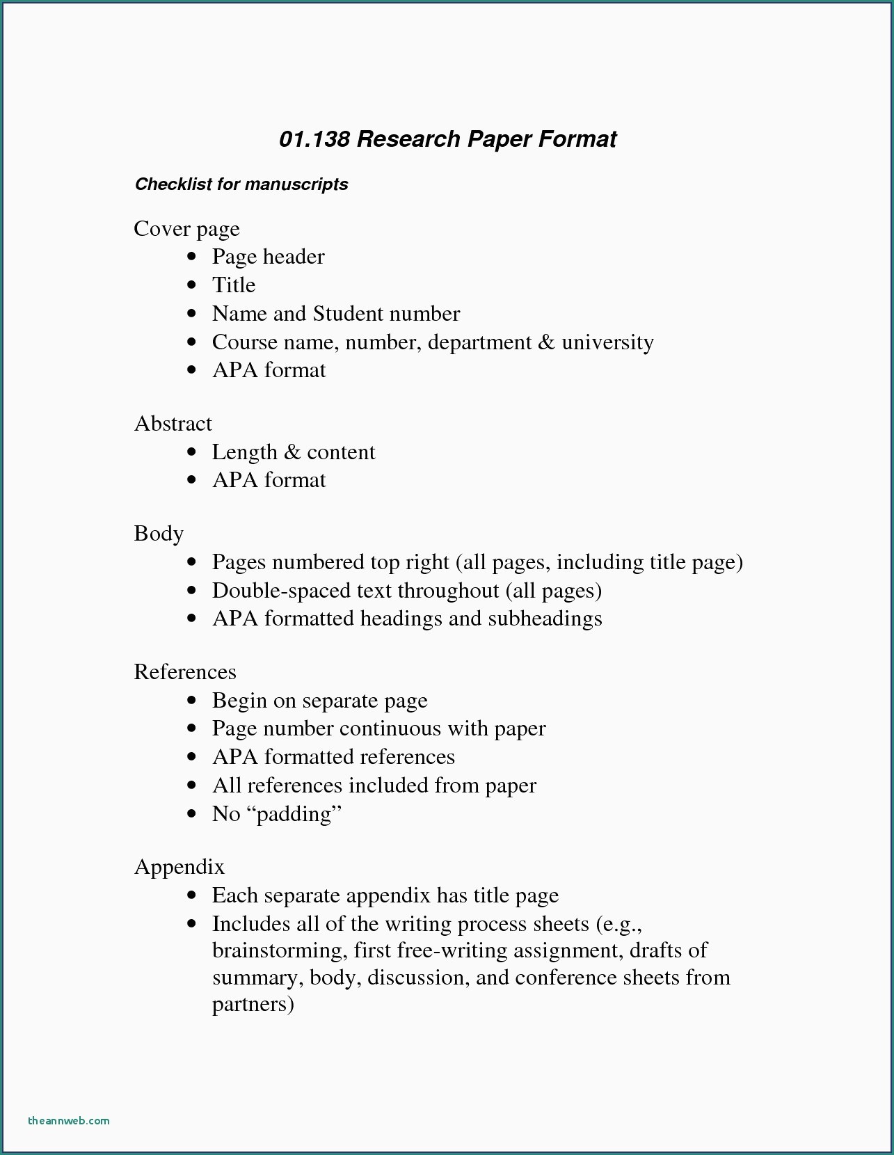026 Apa Format For Research Paper Sample Psychology Elegant Essay New Template Resume Formidable Style Example 6th Edition Outline Full