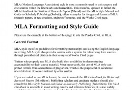 026 Citation Page For Research Paper Purdueowlmlastyleguide Phpapp02 Thumbnail Wonderful How To Make A Works Cited About The Little Rock Nine