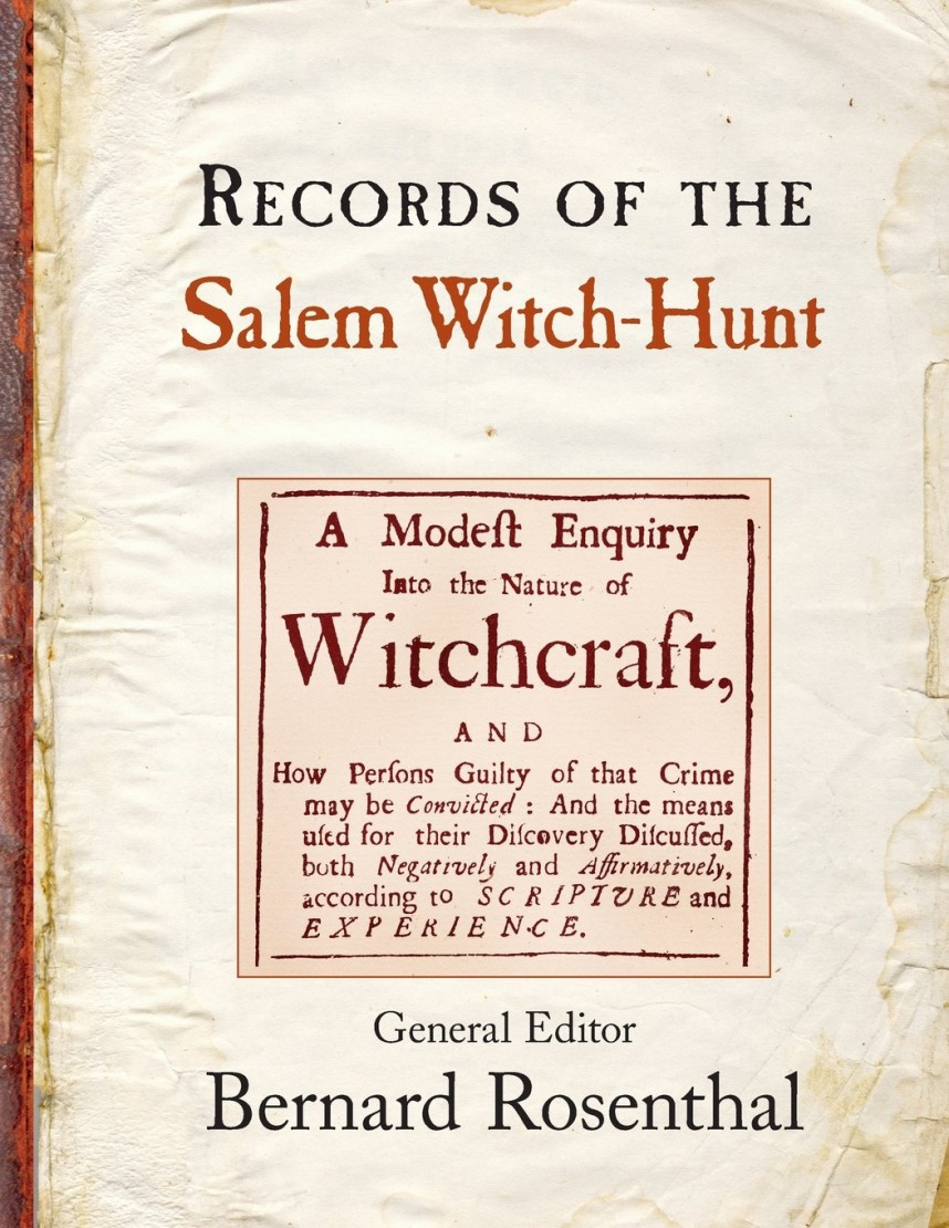 026 Free Salem Witch Trials Research Paper Marvelous