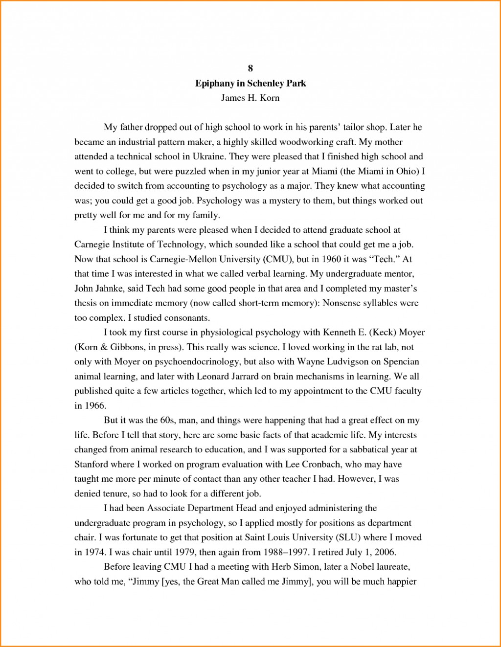 026 High School Research Paper Student Autobiography Stupendous Example Apa Unique Ideas For Guidelines Large