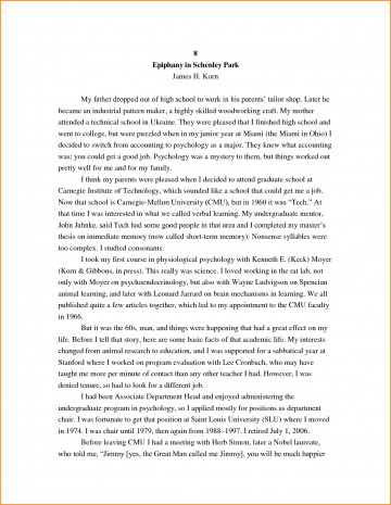 026 High School Research Paper Student Autobiography Stupendous Example Apa Unique Ideas For Guidelines 360