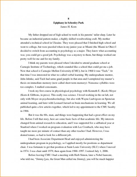 026 High School Research Paper Student Autobiography Stupendous Example Apa Unique Ideas For Guidelines 480
