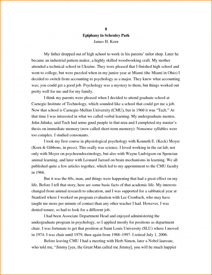 026 High School Research Paper Student Autobiography Stupendous Example Apa Unique Ideas For Guidelines 728