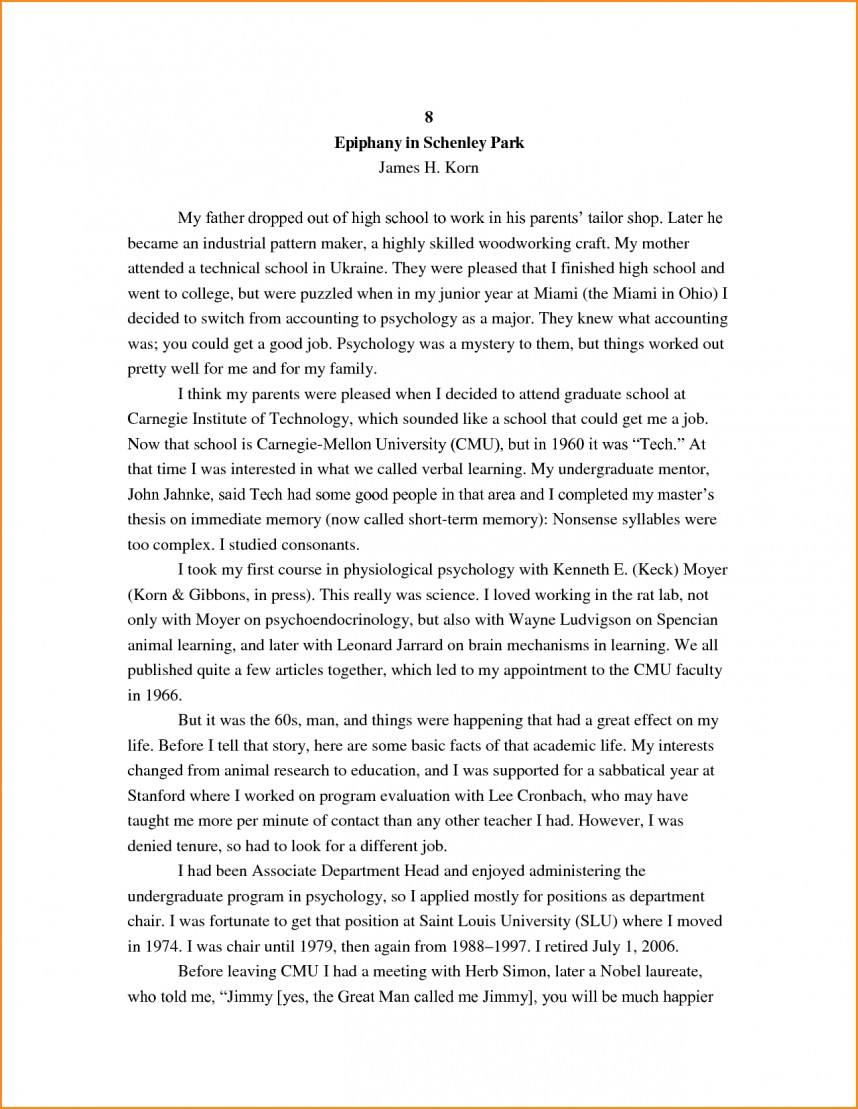026 High School Research Paper Student Autobiography Stupendous Example Apa Unique Ideas For Guidelines 868