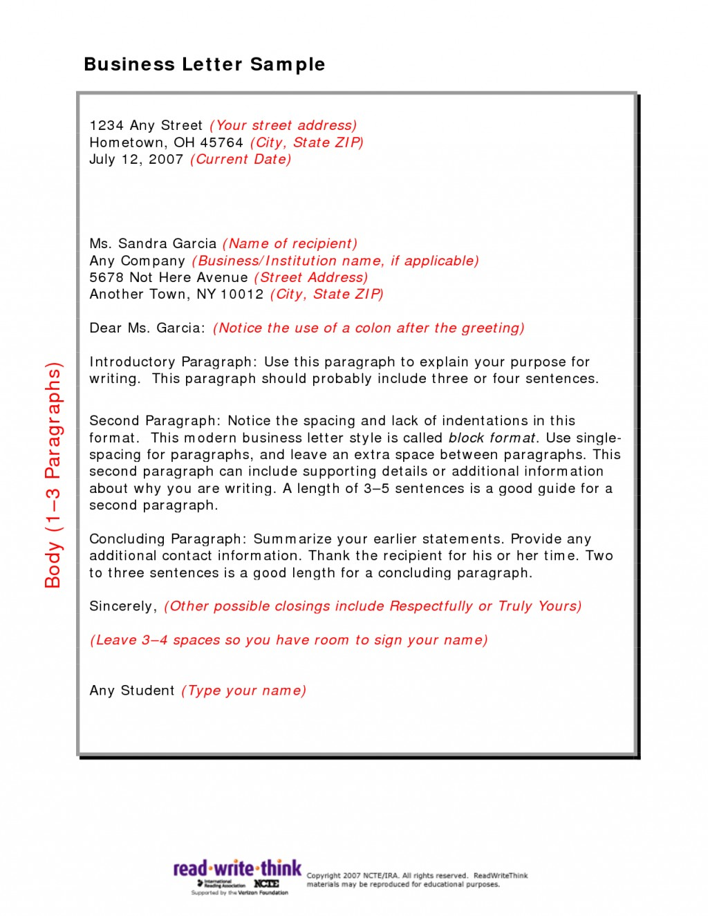 026 Research Paper Friendly Business Letter Sample Marvelous English 102 Ap Example Large