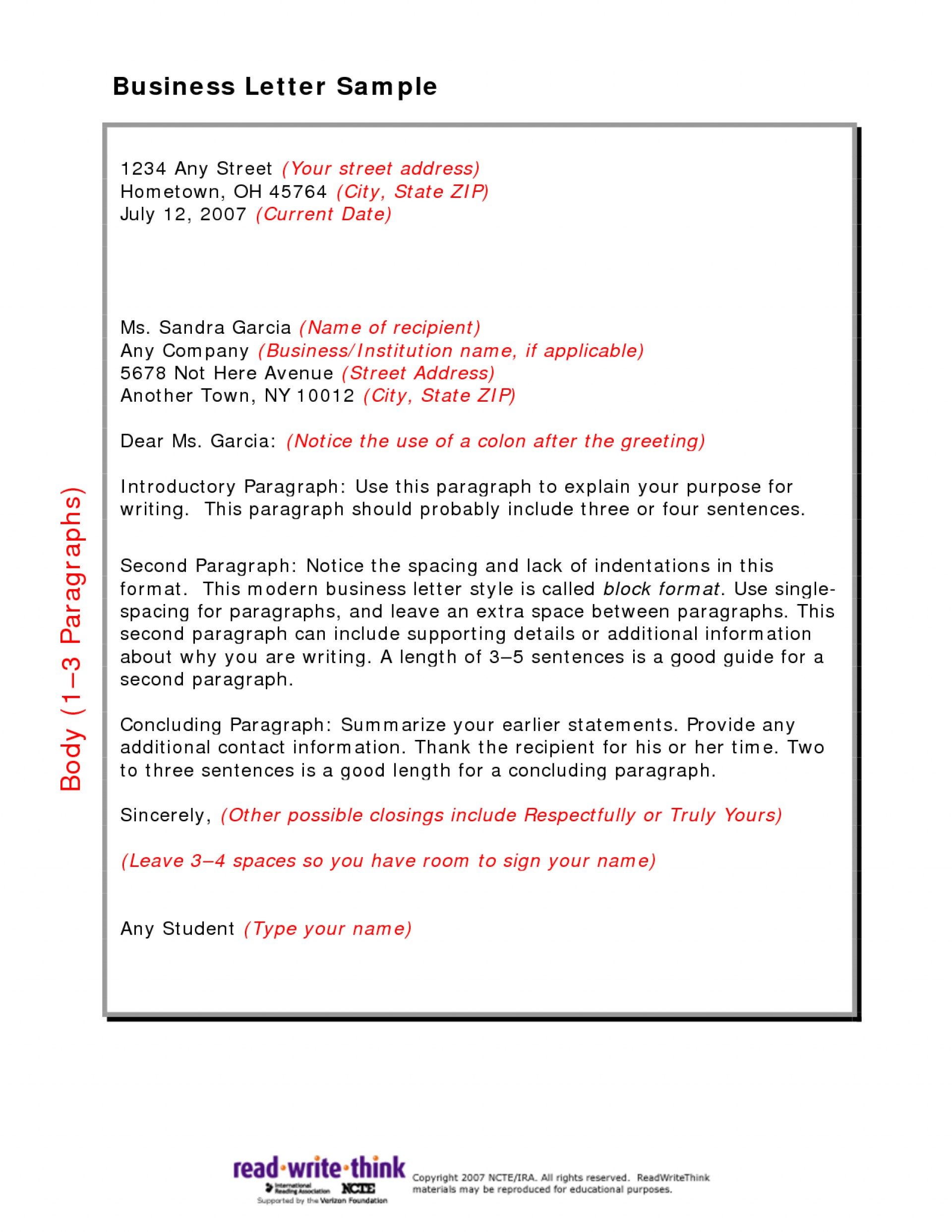 026 Research Paper Friendly Business Letter Sample Marvelous English 102 Ap Example 1920