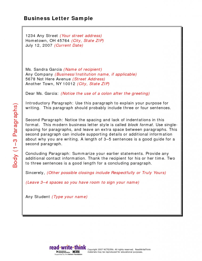 026 Research Paper Friendly Business Letter Sample Marvelous English Composition Example 101