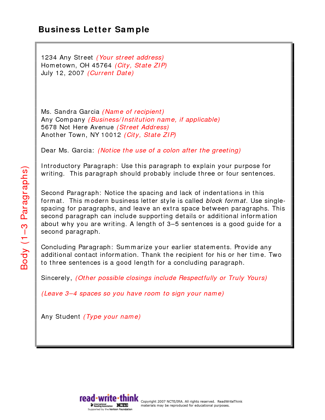 026 Research Paper Friendly Business Letter Sample Marvelous English 102 Ap Example Full