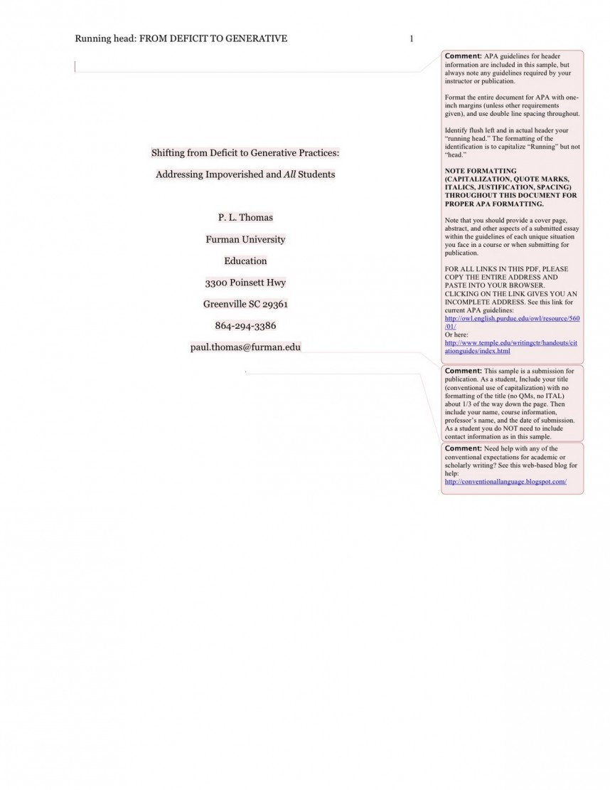 027 Apa Page1 Cover Page For Research Paper Mla Fearsome Format First