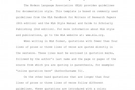 027 Example Research Paper Mla Format Proposal 343594 Shocking Of A Style Works Cited