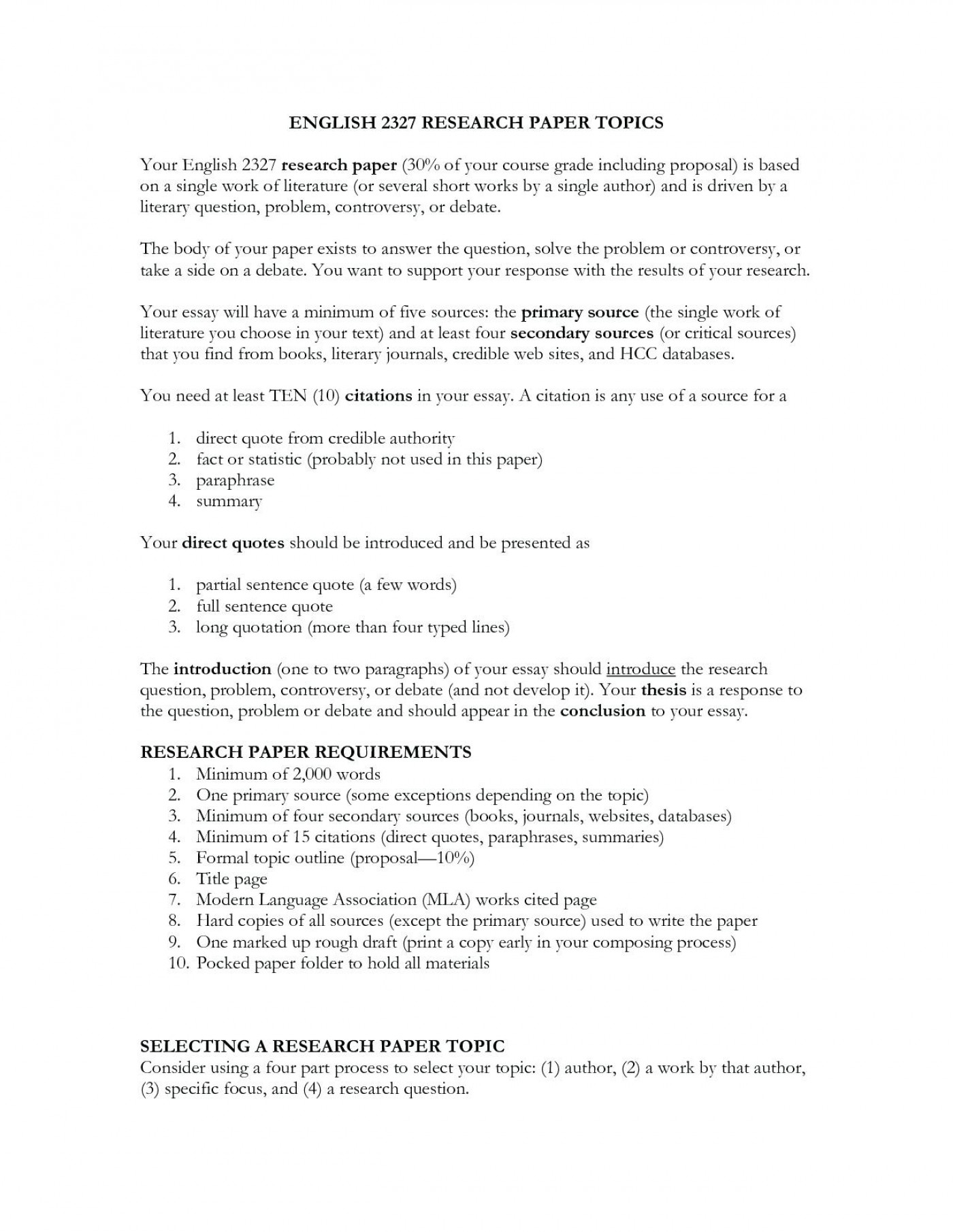 English Essay Topics  English Essay Introduction Example also What Is A Thesis In An Essay  Research Paper Example Proposal Topics Sample Essay  Hiv Essay Paper