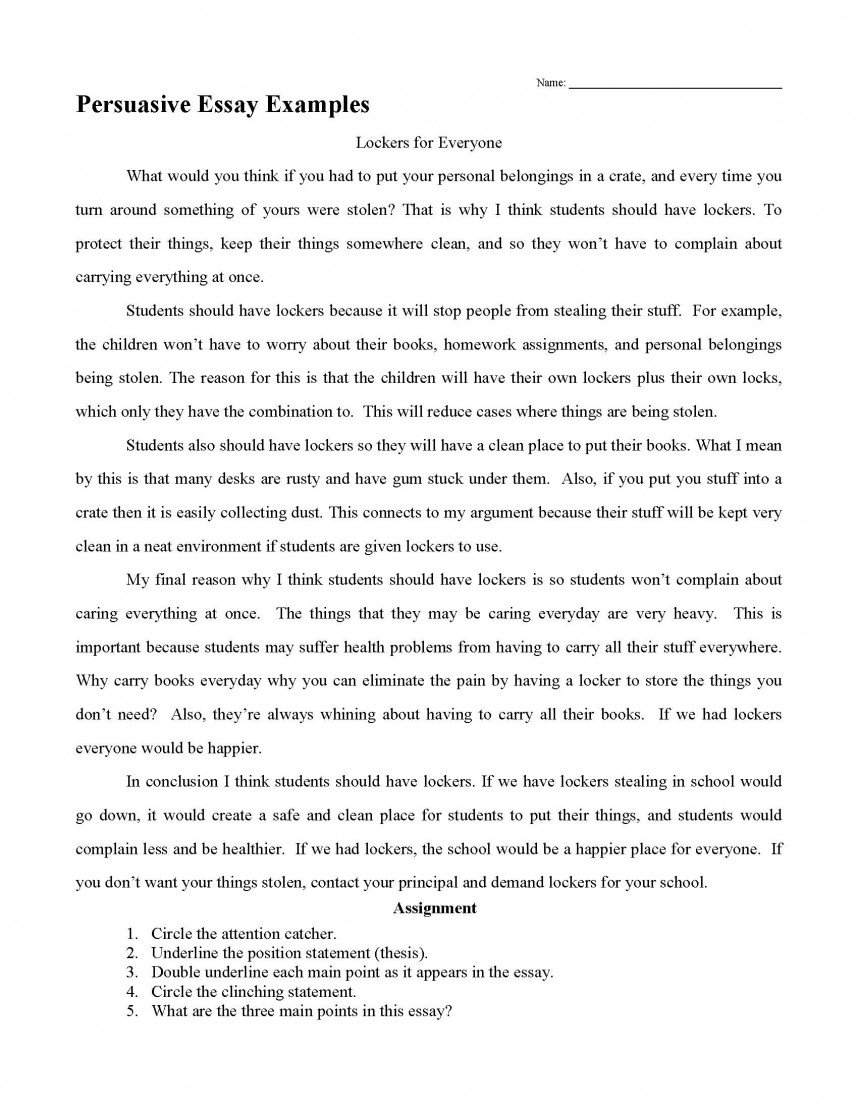 027 Persuasive Essay Examples Research Paper How To Write Breathtaking A Fast Reddit