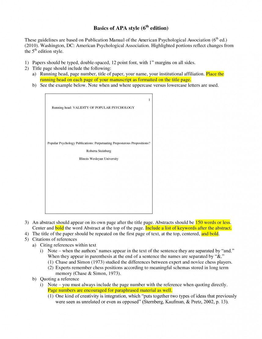 027 Research Paper Apa Style Example 6th Edition Format Template 59285 Marvelous