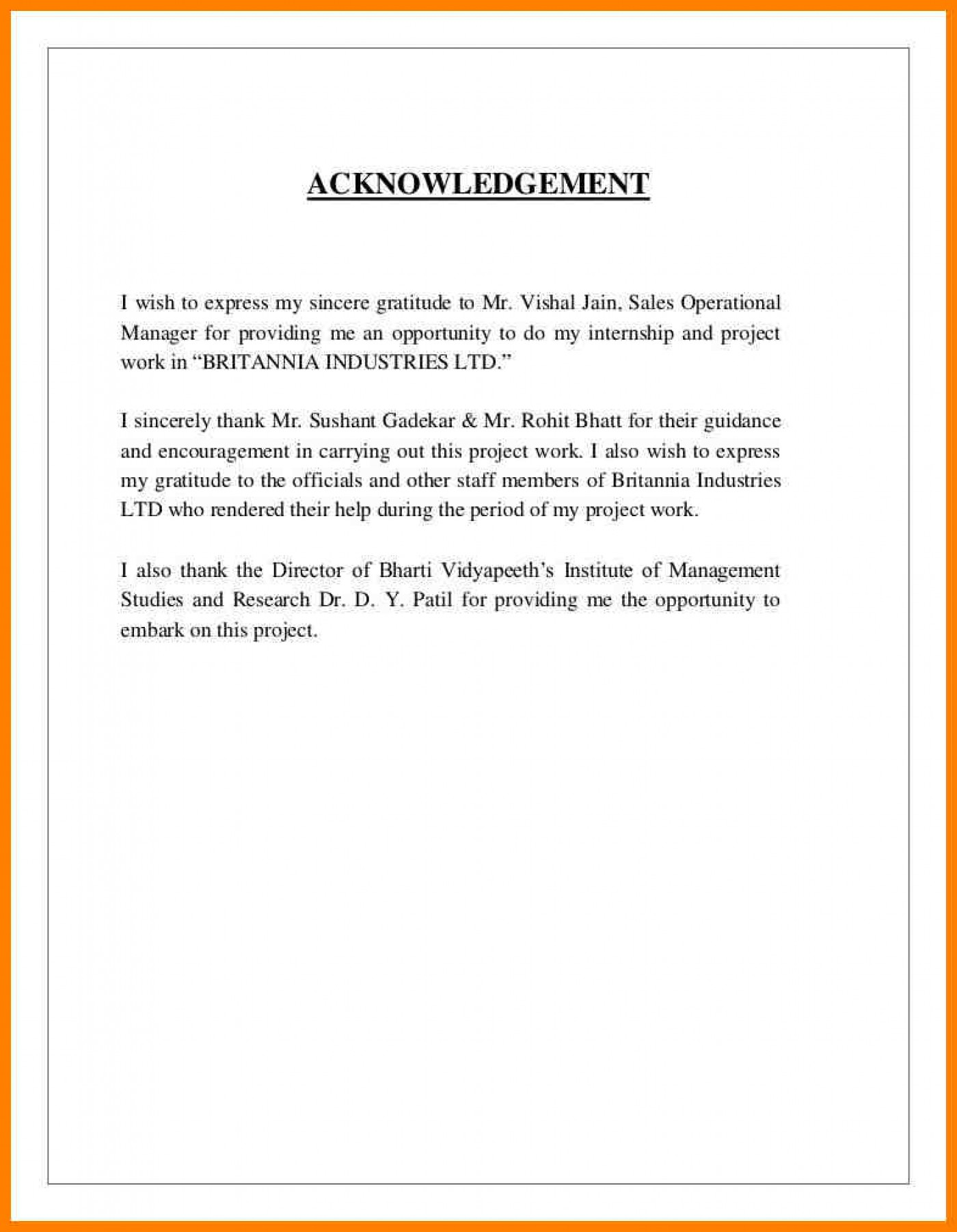 027 Sample Acknowledgement Page For Research Papers On Free Term Paper Essays Apa Short Essay Format Staggering Topic Proposal Childhood Obesity Writing 1400