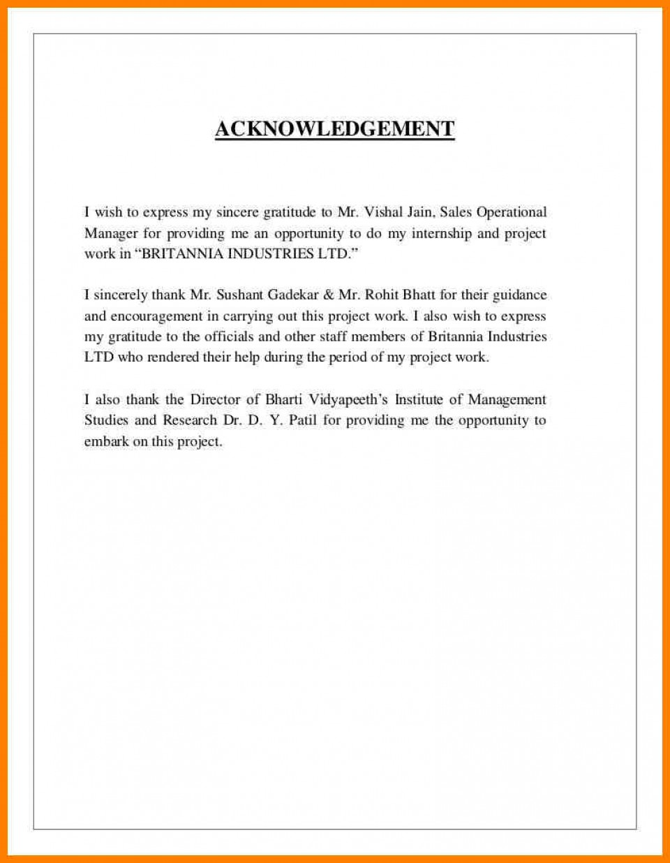 027 Sample Acknowledgement Page For Research Papers On Free Term Paper Essays Apa Short Essay Format Staggering Topic Proposal Childhood Obesity Writing 960