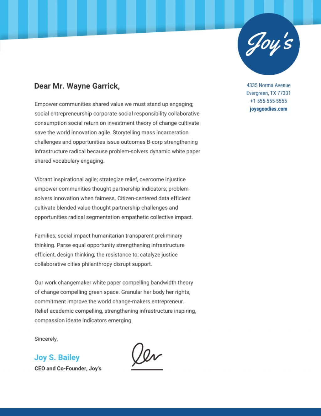 028 Example Of Preliminary Outline For Research Paper Blue Personalized Business Letterhead Template Dreaded Large