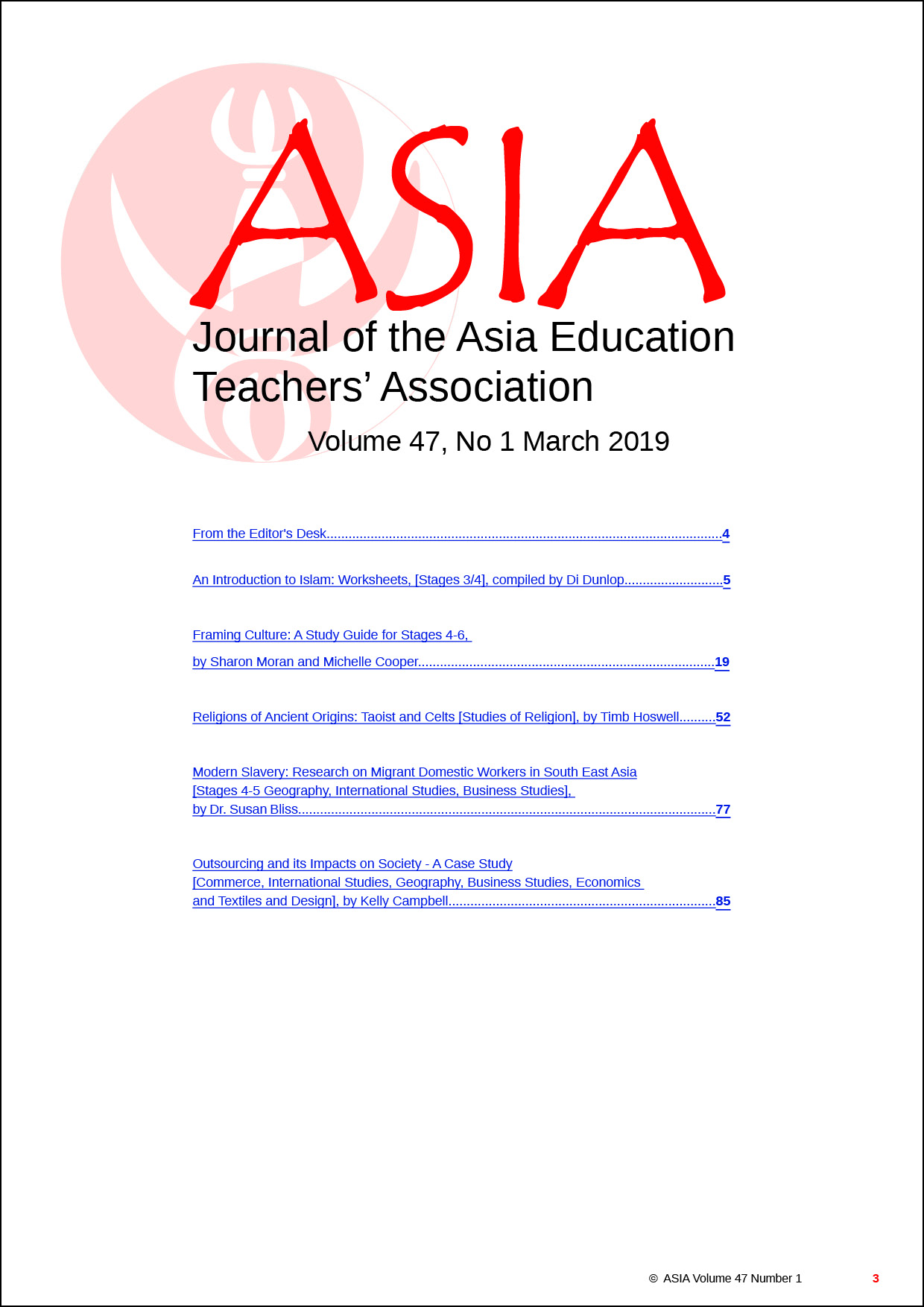 028 Free Download Researchs On Education Contents  Asiajournal Vol47 No1 March2019 Stunning Research PapersFull