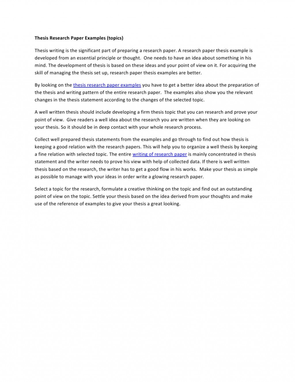 028 Ideas For Research Paper Page 1 Shocking A Topics Writing Good Social Psychology Large