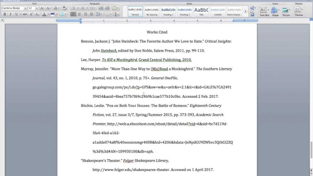 028 In Text Citation For Research Paper Mla Marvelous Large