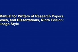 028 Manual For Writers Of Researchs Theses And Dissertations X1080 V4x Sensational A Research Papers Ed. 8 Turabian Ninth Edition