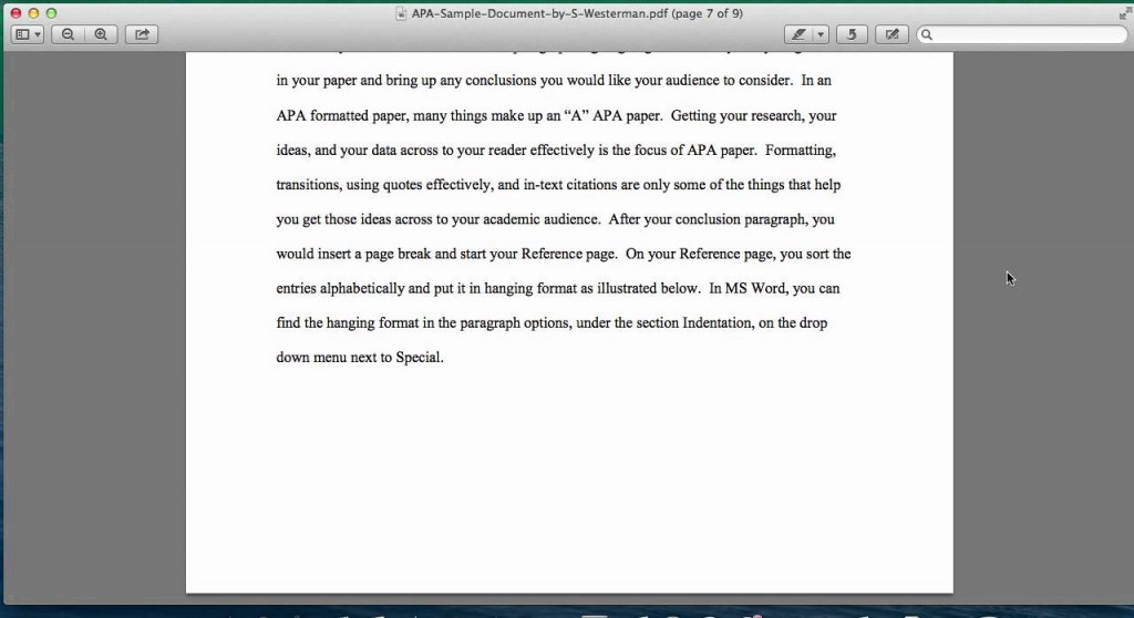 028 Research Paper Apa Style Example 6th Edition Marvelous Large