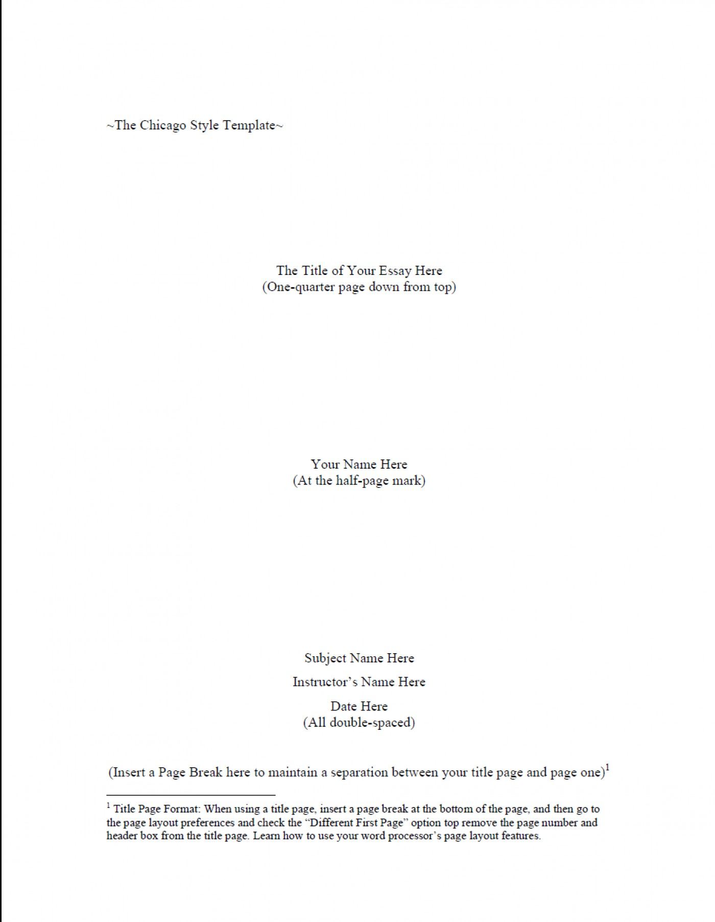 028 Research Paper Chicago Style In Text Citation Sample Paper1 Wondrous 1400