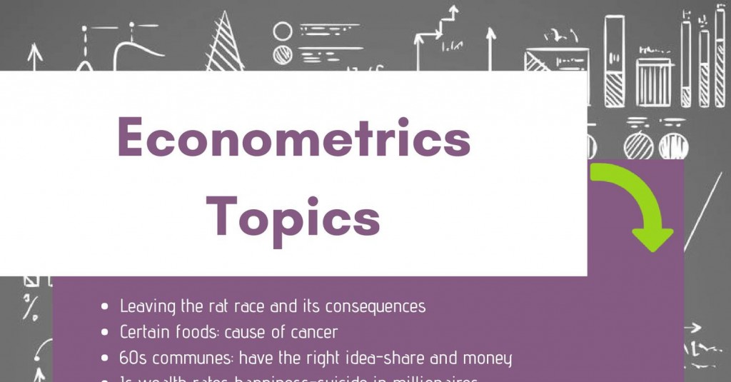 028 Topics For Econometrics Researchs Cancer Amazing Research Papers Good Large