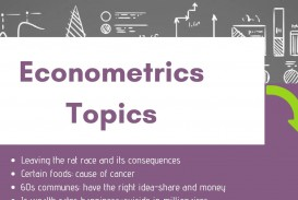 028 Topics For Econometrics Researchs Cancer Amazing Research Papers Good