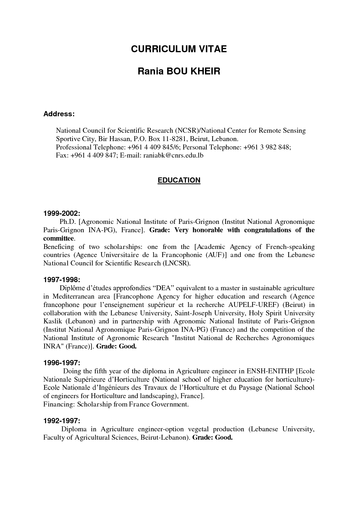 029 Example Of High School Student Research Paper Cv Resume ...