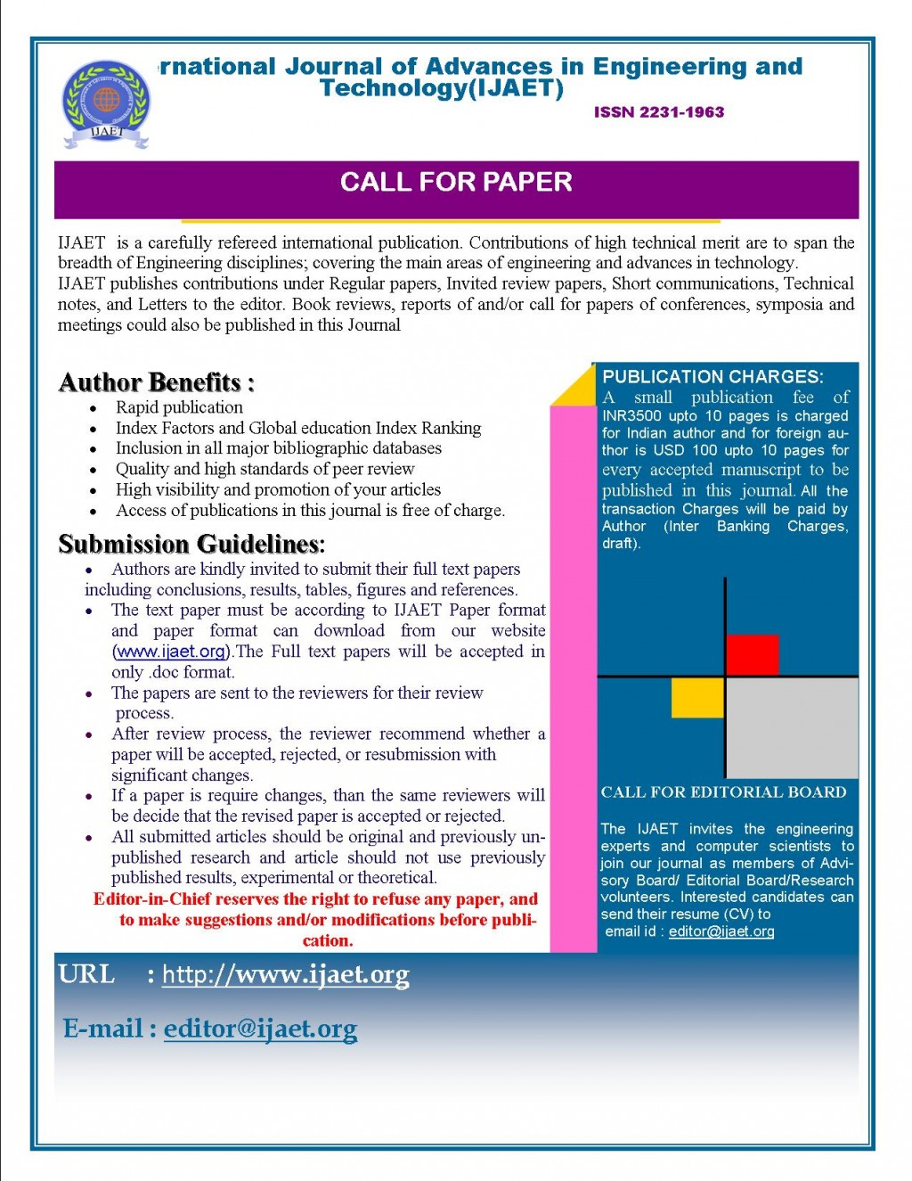 029 How To Publish Research Paper In International Journal Free Pdf Cfp Unusual Large